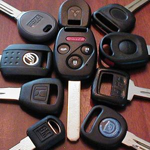 Automotive Keys - Foreign & Domestic